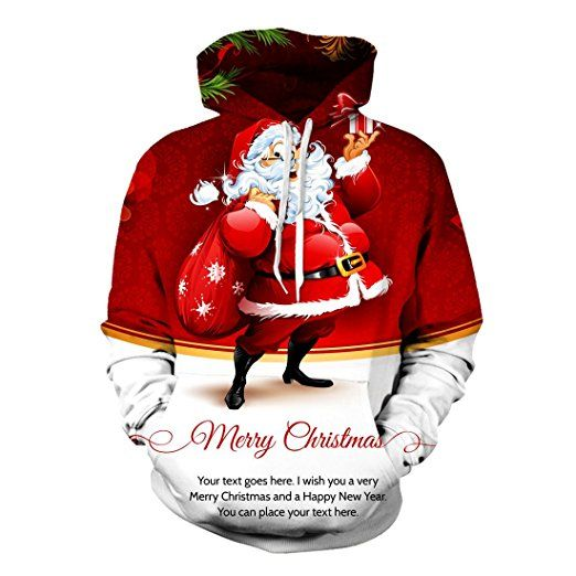 Wish You Merrry Christmas Happy New Year Cat Sweatshirt