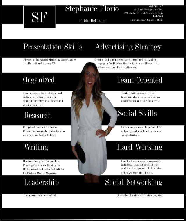Creative Skills Based Resume Work Ideas Pinterest Creative - resume presentation skills