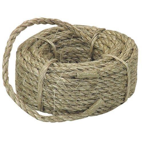 1 4 In X 100 Ft Sisal Rope Sisal Rope Sisal Natural Sisal