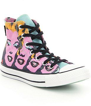 59bfd59f44a456 Converse Women´s Chuck Taylor® All Star® Warhol Marilyn Monroe High Top  Sneakers
