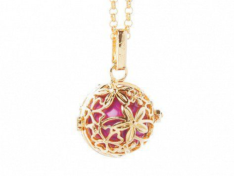 Yourself Expression: Hibiscus Angel Locket