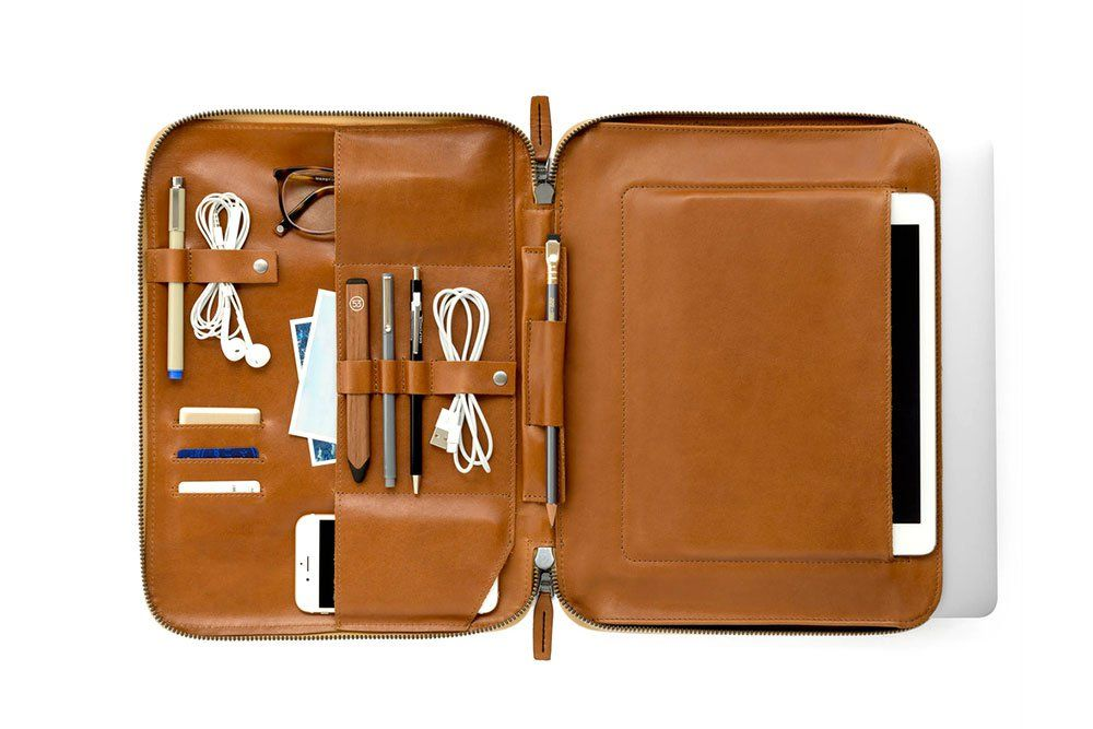 This Is Ground's Mod Laptop 2 Is a Customizable Leather Case Designed to Carry Your Daily Essentials