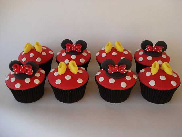Minnie Mouse Cupcakes Cupcakes Cupcakes De Disney