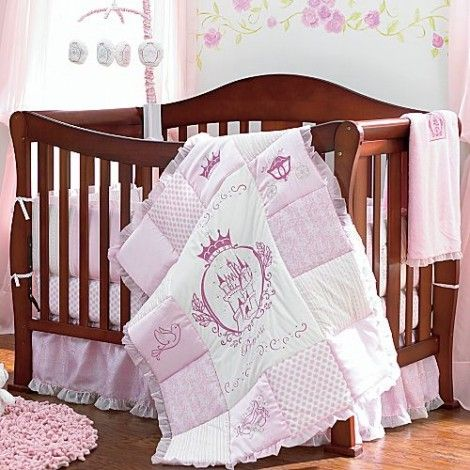 Disney 39 s little princess 4 piece bedding set subtle for Princess themed bed