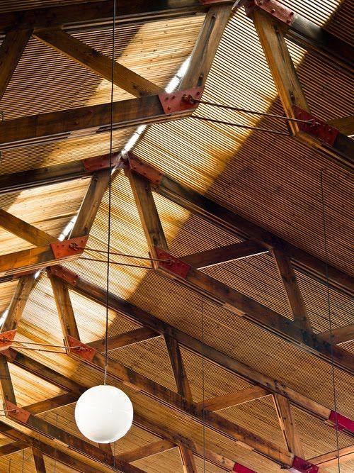 LE CONTAINER WOOD structure Pinterest Charpente, Bois metal et - maison ossature metallique avis