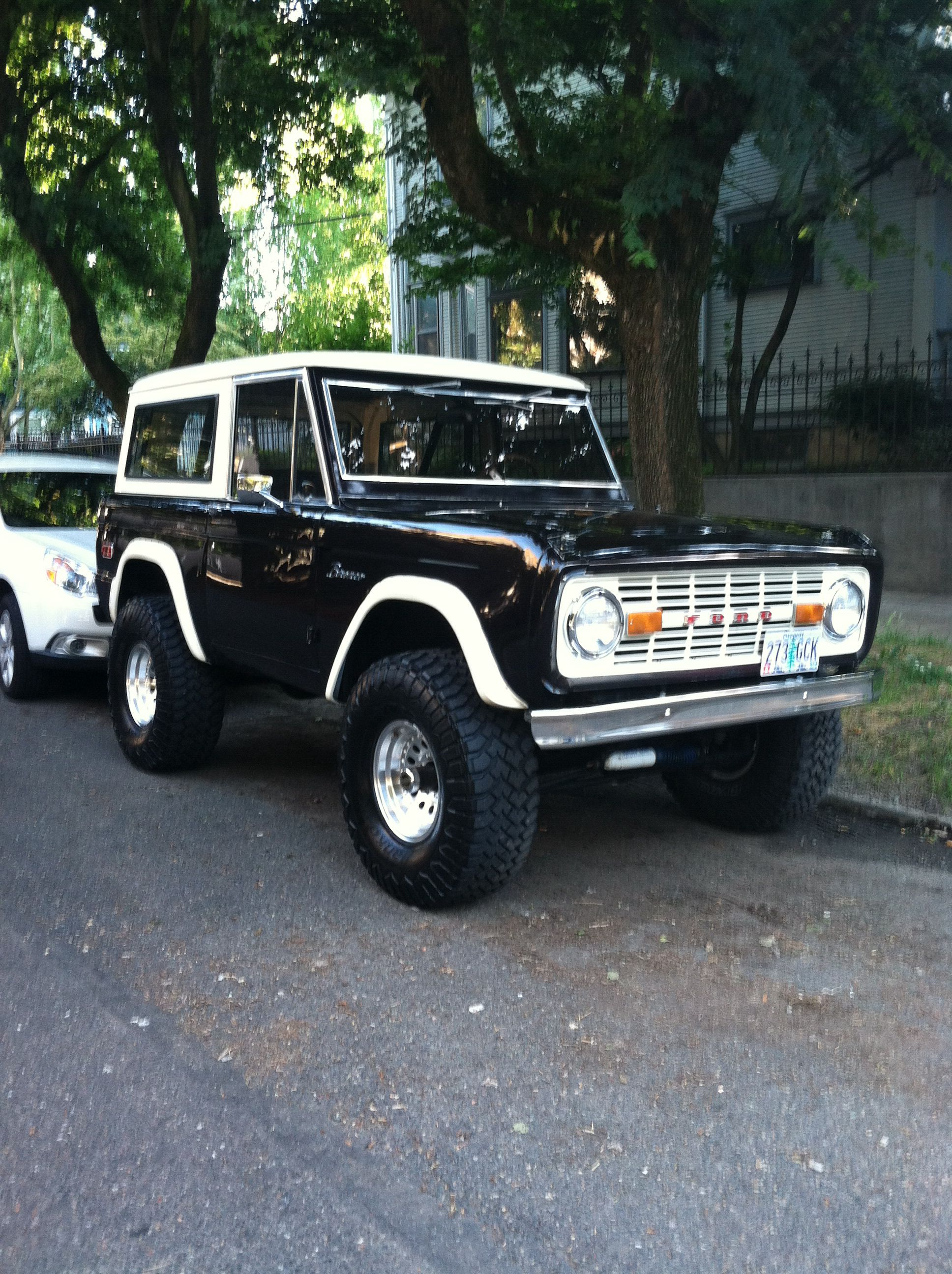 Old School Ford Bronco Super Clean Carros Legais Carros Jipe