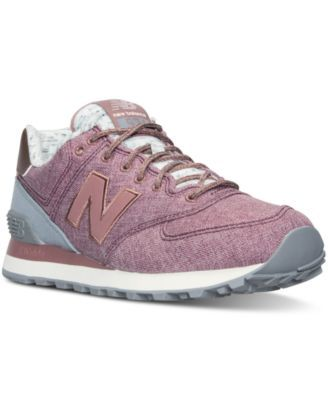 574 SUEDE/WINTER TEXTILE - CHAUSSURES - Sneakers & Tennis bassesNew Balance