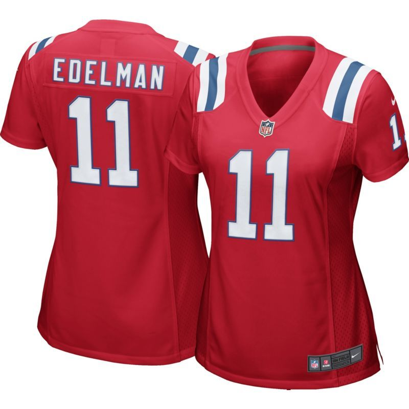 save off 4a9bc dfc33 Nike Women's Alternate Game Jersey New England Patriots ...