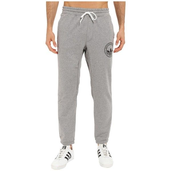 adidas Skateboarding Clima Skate Sweatpants (Core Heather) Men's... ($40)