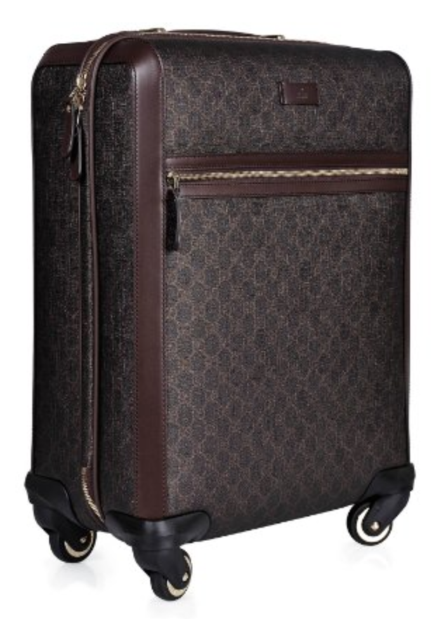 9fdb50dec Gucci Suitcase in Brown | Lugggage And Attache in 2019 | Suitcase ...