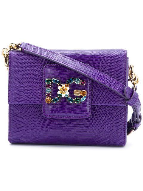 DOLCE   GABBANA mini DG Millennial shoulder bag.  dolcegabbana  bags  shoulder  bags  leather  lining  crystal   caa04efe054f7