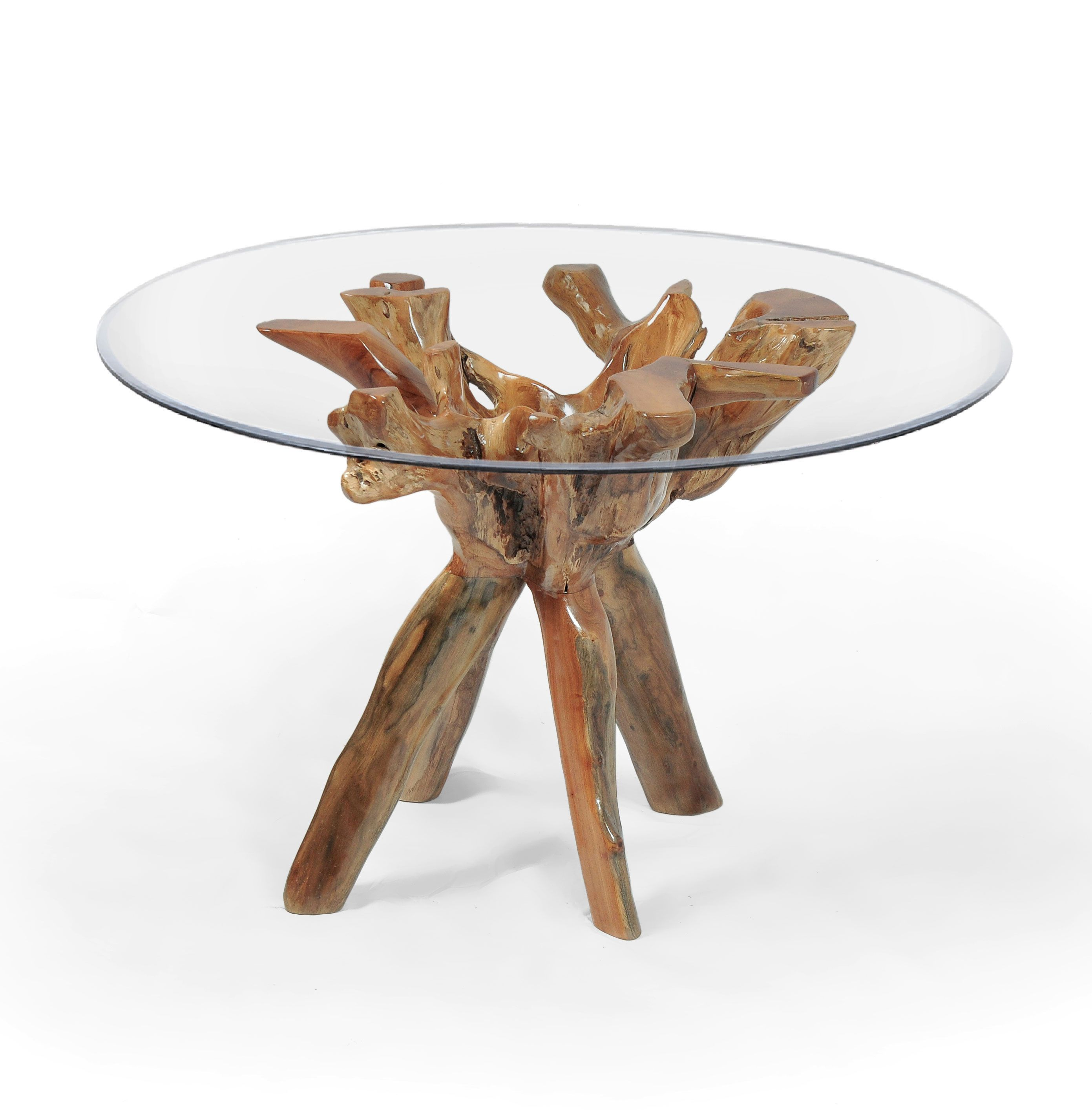 Teak Wood Root Bar Table Including 47 Inch Glass Top By Chic Teak Only 933 33 Teak Wood Teak Teak Rocking Chair