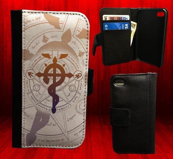 fullmetal alchemist Leather Wallet Case for by ...