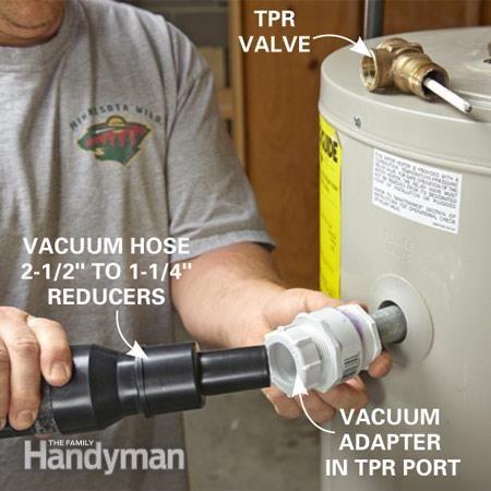 How To Flush A Water Heater Plumbing Diy Home Repair Home Repair