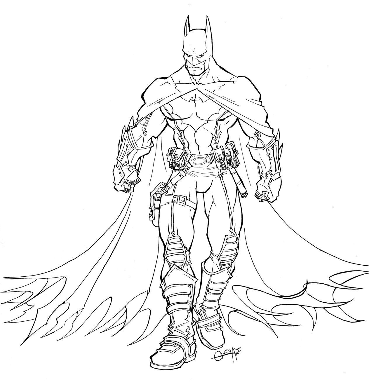 Free Printable Batman Coloring Pages For Kids | Batman, Free ...