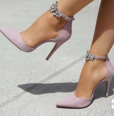 Summer 2019 fashion trend women's shoes pointed toe stilettos heels buckle pumps party shoes any color can be customized big size 45