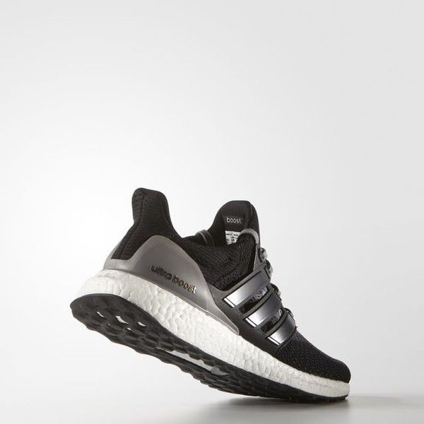 wholesale dealer c55da e780e adidas Ultra Boost Shoes Black ( 180) ❤ liked on Polyvore featuring shoes,  athletic shoes, kohl shoes, flexible running shoes, black athletic shoes,  ...
