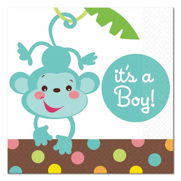 Amazing Amscan Fisher Price Baby Shower Itu0027s A Boy Beverage Napkins