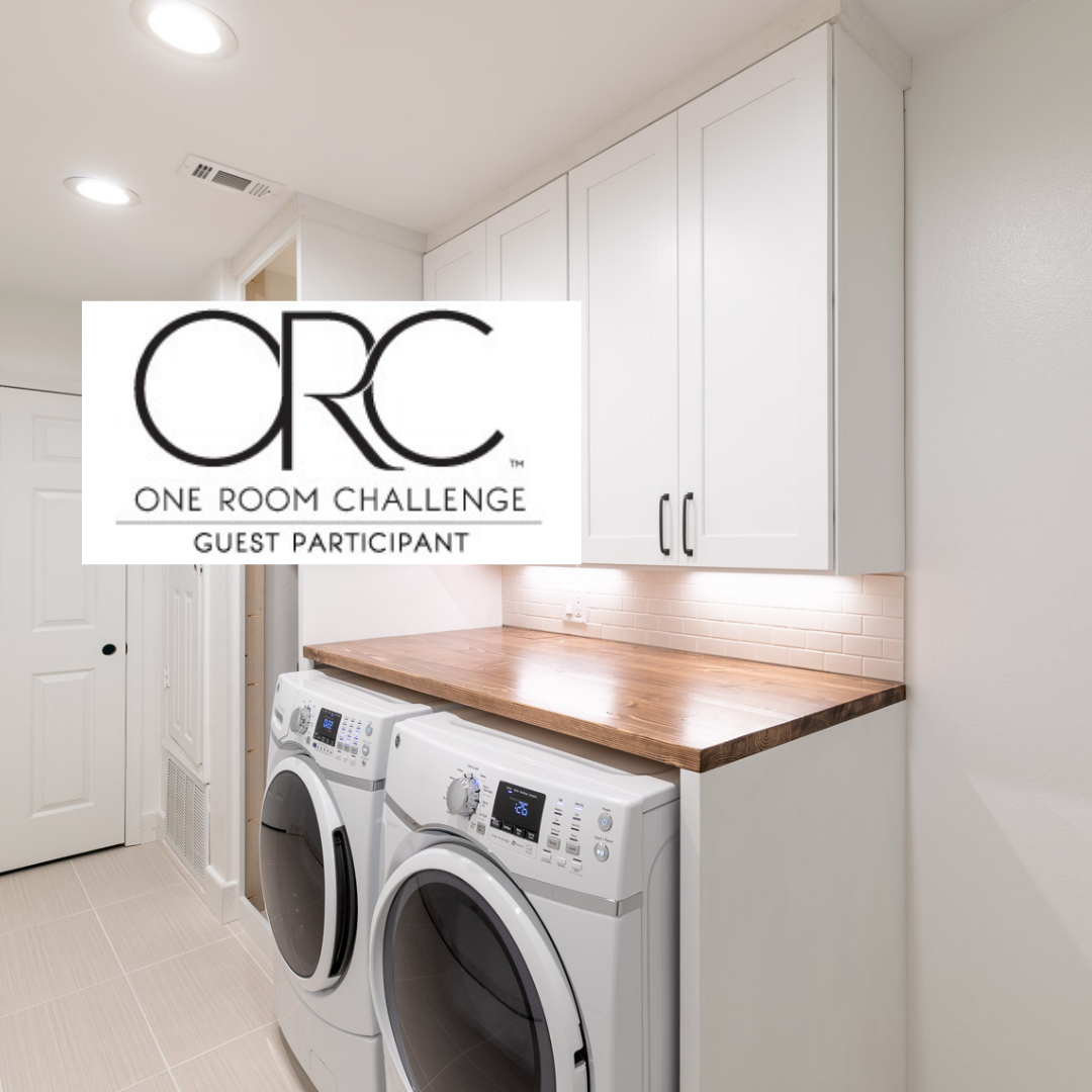 Laundry Room Makeover Diy One Room Challenge Nettoyage Machine