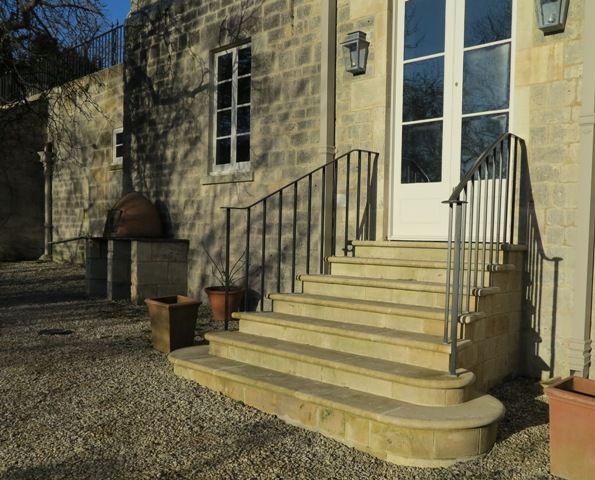 Handrails | Iron stair railing, Step railing, Handrails