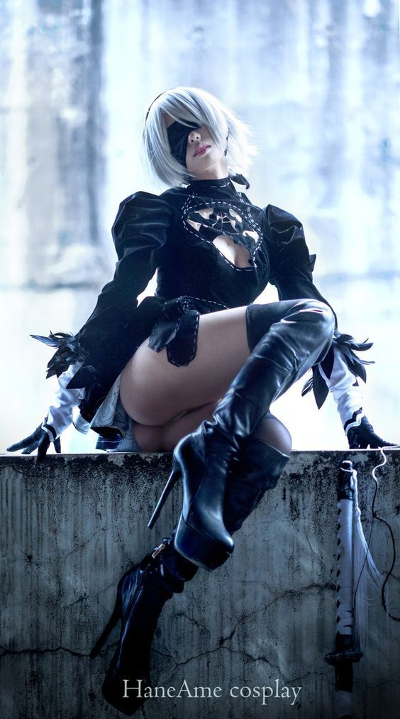 Nier Automata 2B cosplay by HaneAme cosplay #Nierautomata2bcosplay  #nierautomata #cosplayclass