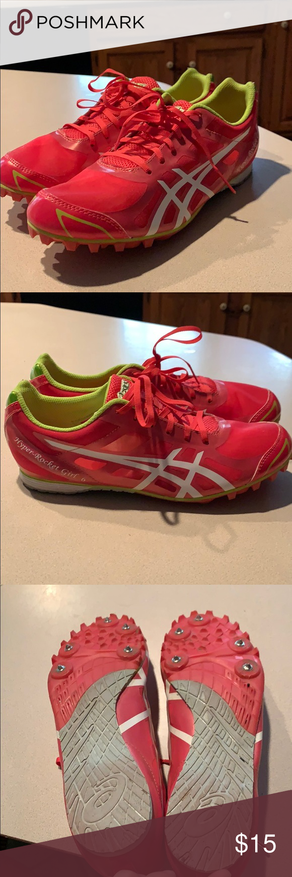 cross country spikes size 6
