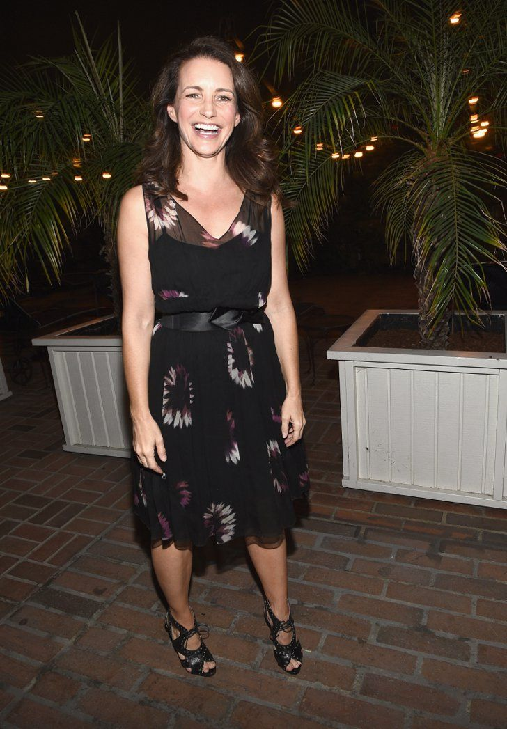 Pin for Later: The Hot Oscars Parties You May Have Missed  Kristin Davis lit up with a smile during the Vanity Fair and Barneys New York event for OXFAM at the Chateau Marmont.