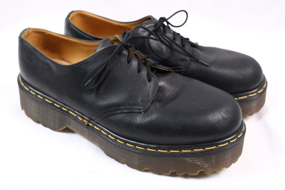 excellent quality dr martens 4 eye brown leather oxfords us 13