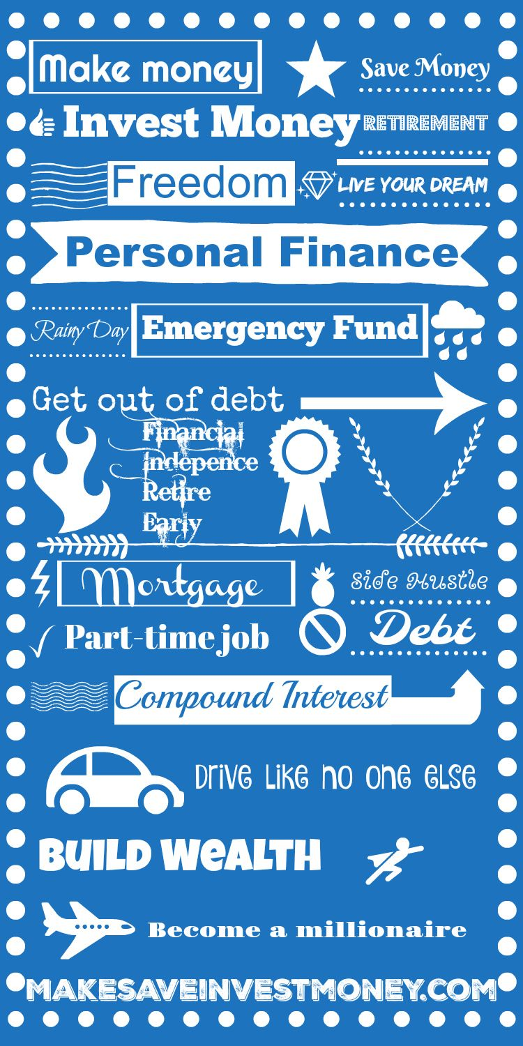 Personal finance pin of inspiration! All the big important