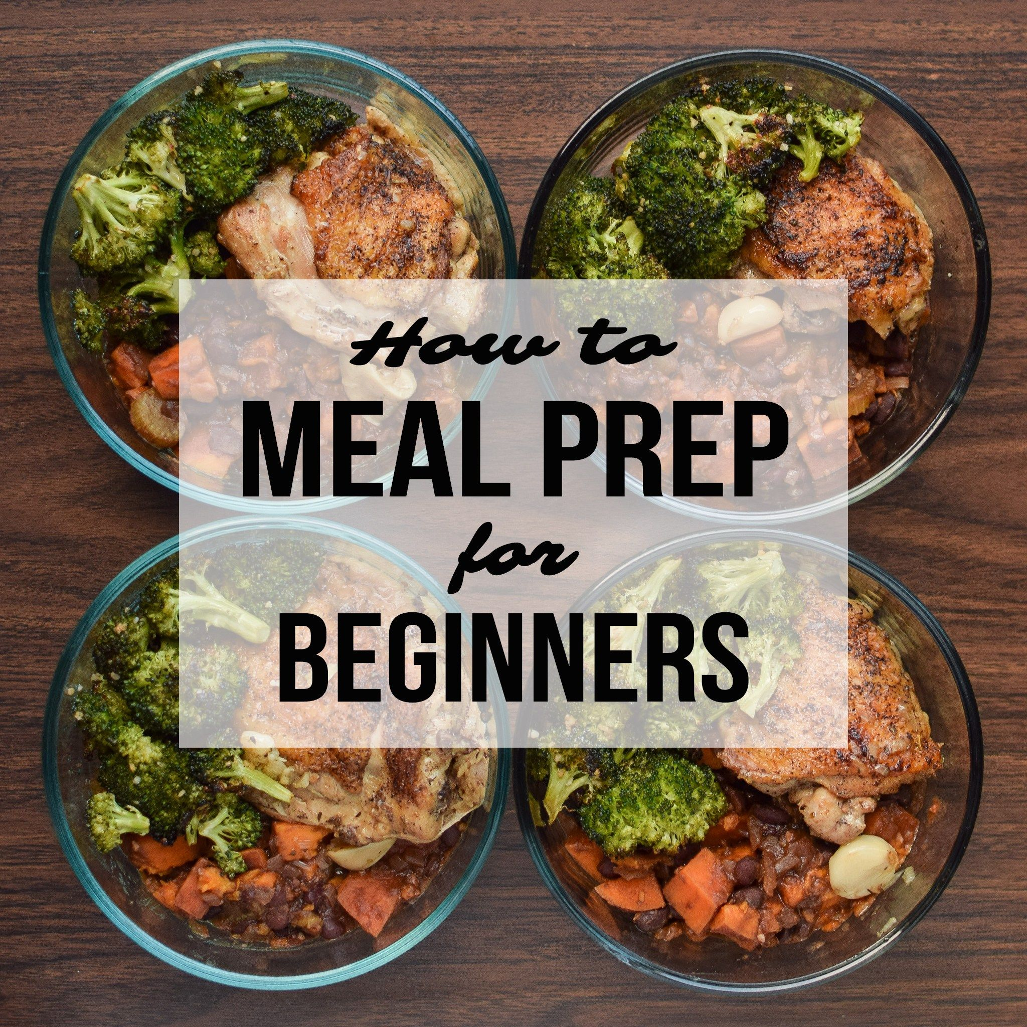 How To Meal Prep For Beginners