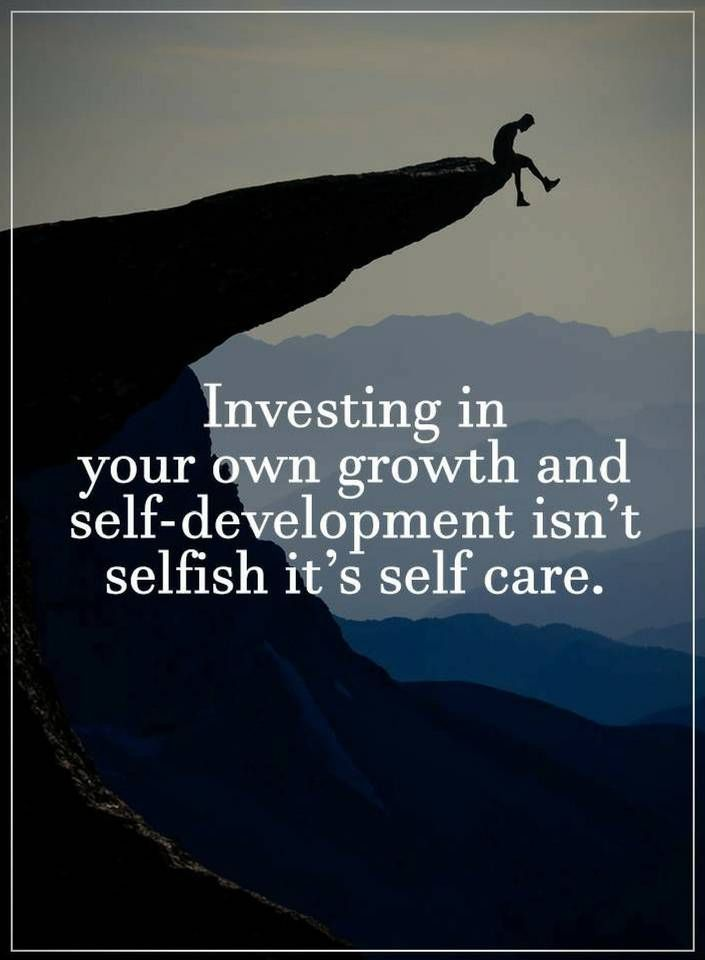 Quotes Investing in your own growth and self-development isn't ...