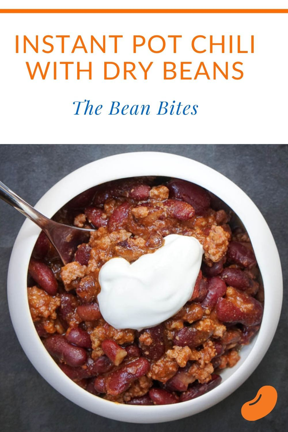 Instant Pot Chili With Dried Beans And Beef Instant Pot Dinner Recipes Chili Instant Pot Recipe Dry Beans Recipe