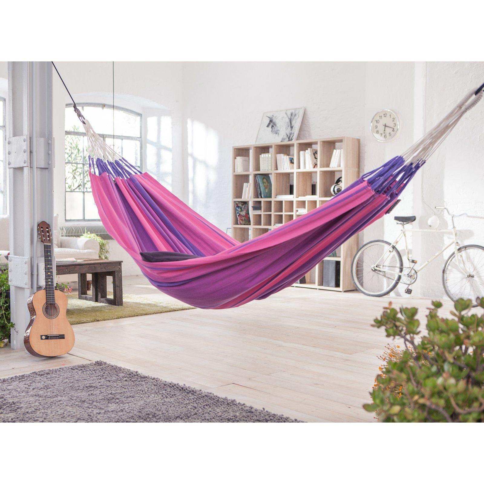 Attractive La Siesta Orquidea Purple Colombian Single Hammock   ORH14 7