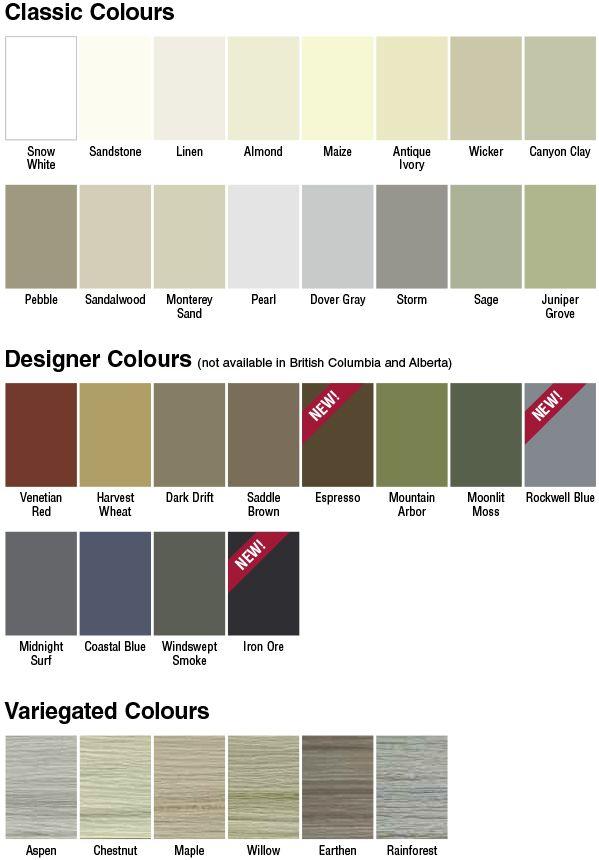 Board and batten vinyl siding gentek building products for New vinyl siding colors