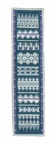 Hapsburg Lace Bookmark: Learn a Wide Variety of Lacy Counted Embroidery Stitches on a Mini Sampler Bookmark