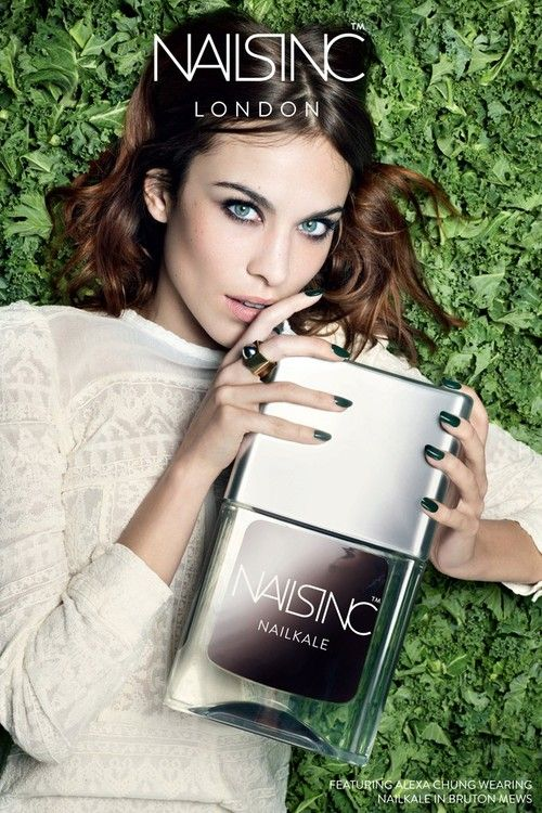 Nails Inc. Signs Alexa Chung