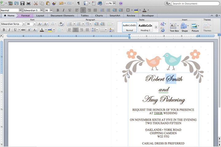 DIY Tutorial: FREE Printable Invitation And RSVP Card Template  Free Rsvp Card Template