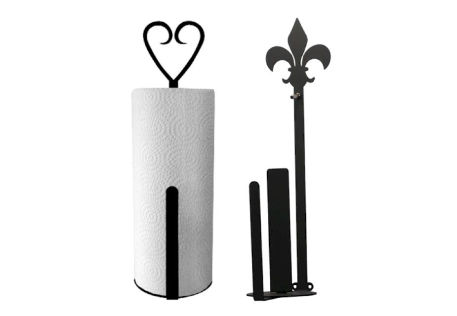 Kitchen Decor Vertical Wall Mount Paper Towel Holders
