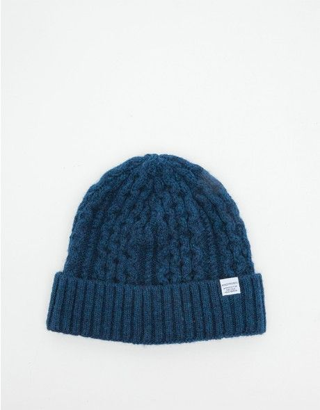 f551d147d Cable Wool Beanie | Accessories for Him | Norse projects, Fashion ...