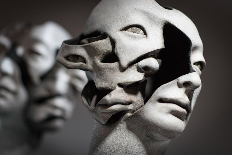 Haejin Lee In 2020 Ceramic Sculpture Sculpture Skull