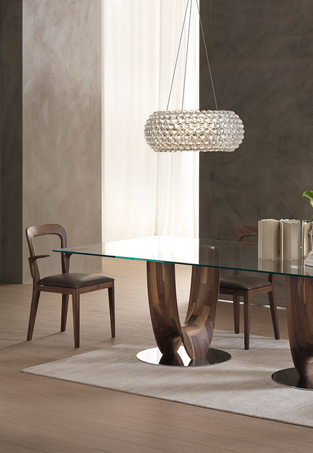 At The Table Or On The Table Axis Design Depot Furniture Furniture Miami Showroom Dining Table Modern Dining Table Table