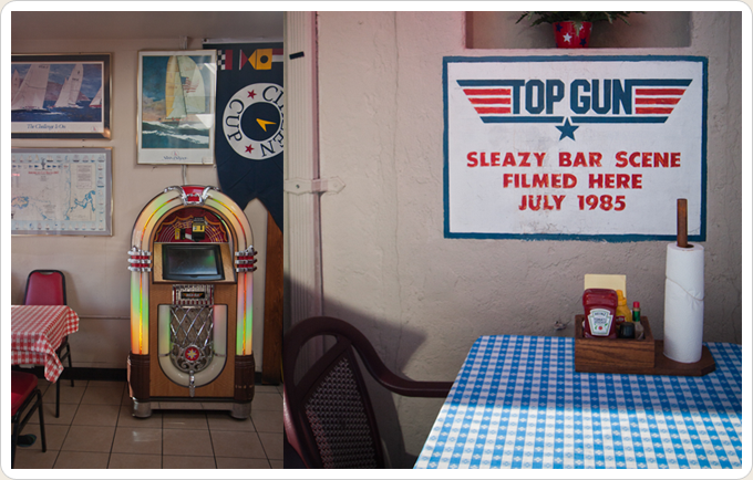 Kansas City Barbeque In San Diego Film Location In Top Gun 1986 Top Gun Filming Locations Kansas City Barbeque