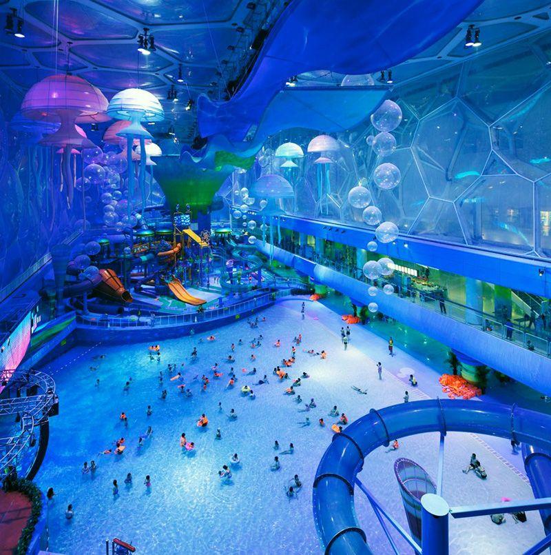 Top 3 World S Largest Indoor Water Parks Water Park Happy Magic Indoor Waterpark
