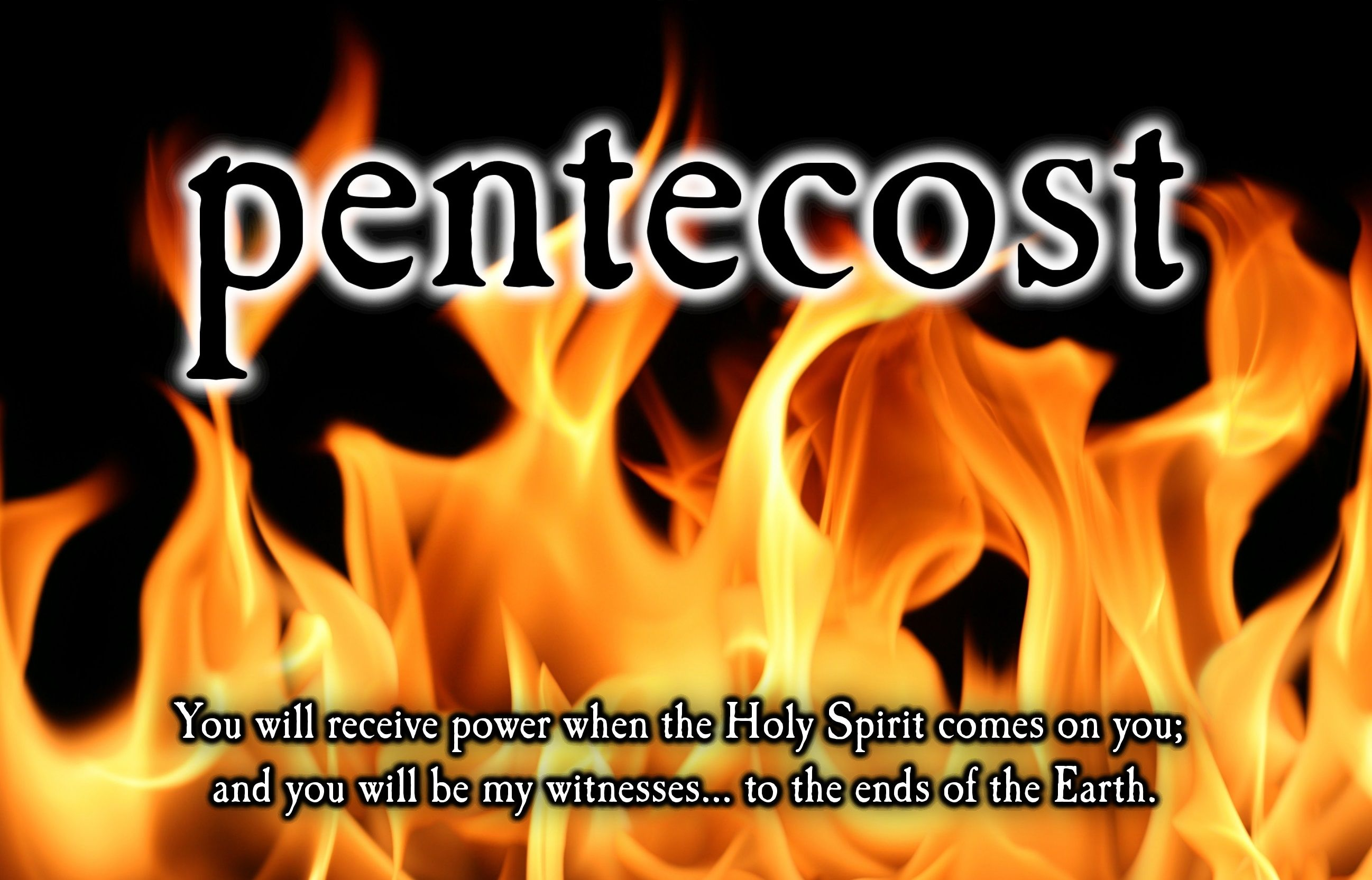 "Holy Spirit · Acts 2:1-4 (DARBY) ""And when the day of Pentecost"