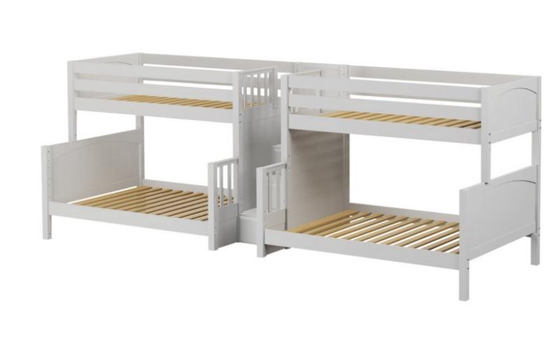 Combine Two or More Beds Corner Lofts, Triple & Quad