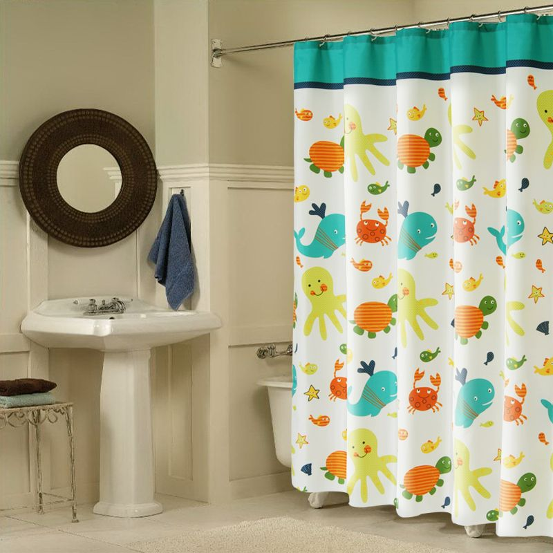 Click To Buy Upscale Bathroom Shower Curtain Waterproof Mildew