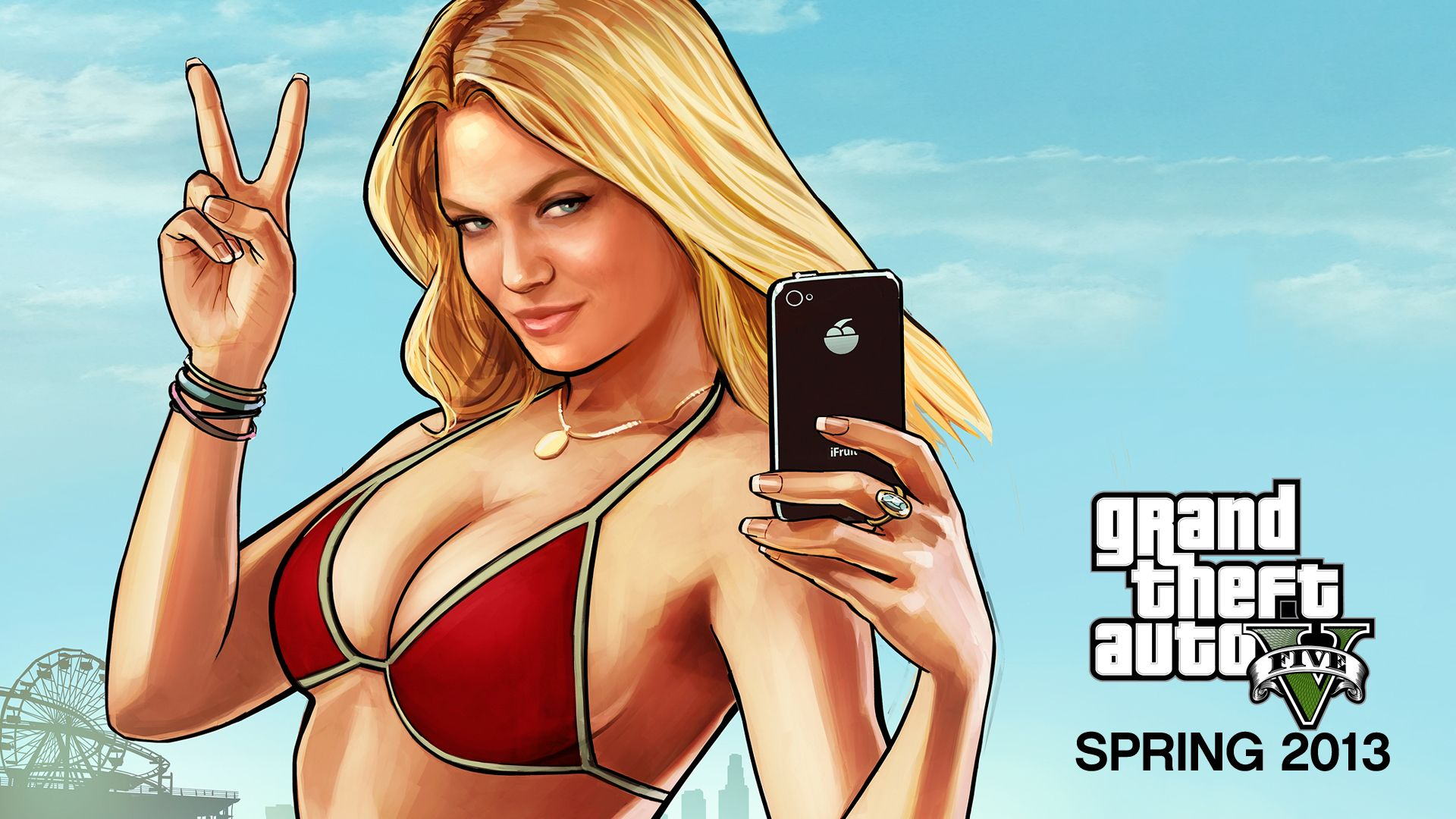 Grand Theft Auto Gta 5 Girl Character Wallpaper Hd -5417