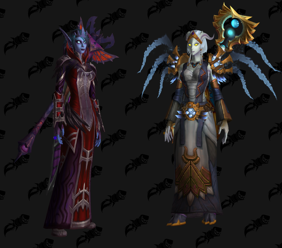 My Void Elf And Lightforged Priest Transmogs Worldofwarcraft Blizzard Hearthstone Wow Warcraft Blizzardcs Gaming Priest World Of Warcraft Warcraft A first look at the blood elf heritage armor added in this weeks 8.1 ptr build 28151. pinterest