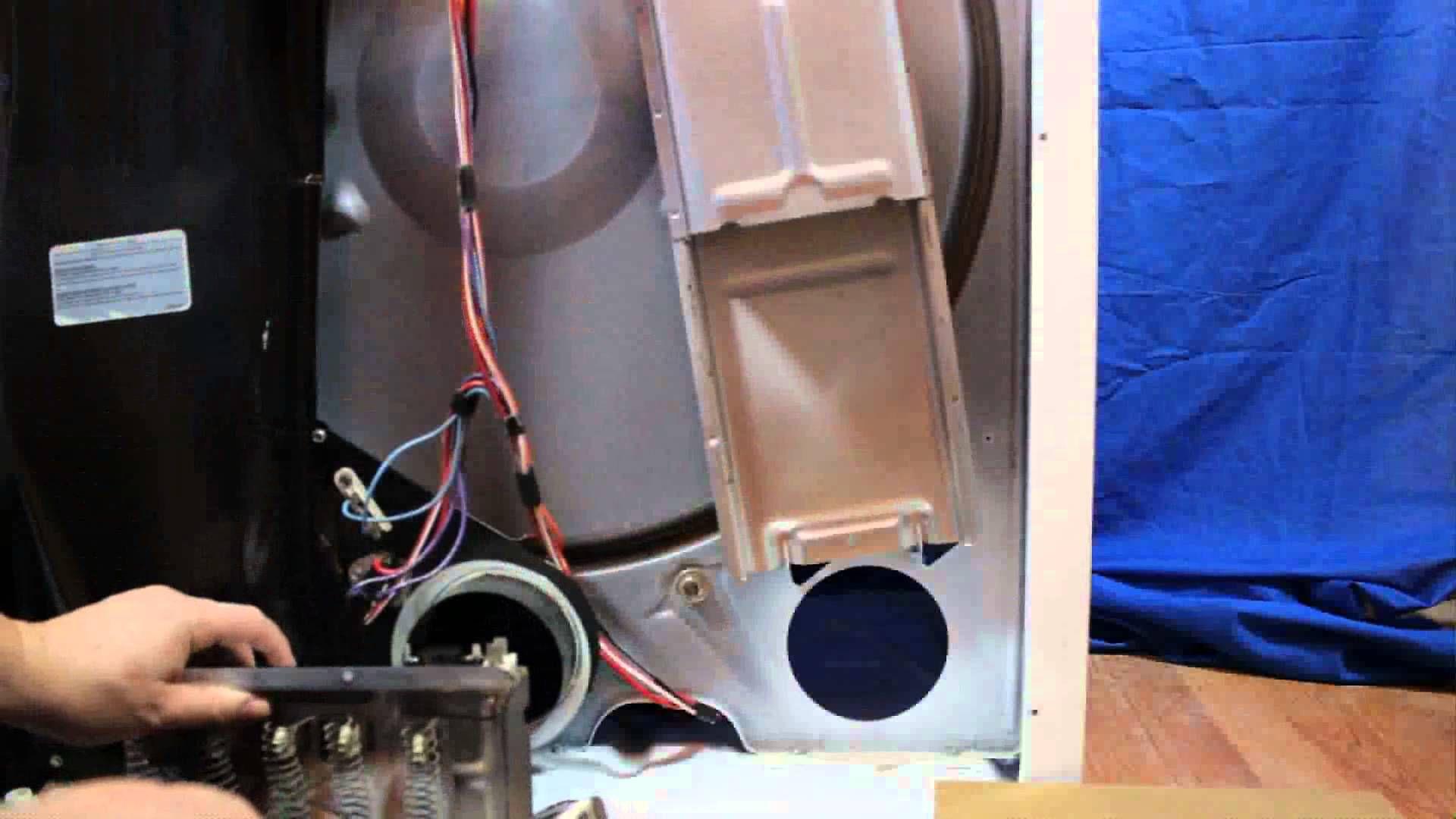 Whirlpool Kenmore Dryer Won t Heat Test & Replace Heating