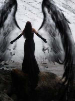 Fallen angel wings image picture and wallpaper fallen angel shoot fallen angel wings gothic - Gothic fallen angel pictures ...